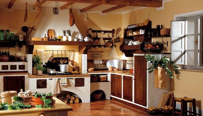 produzione cucine in muratura bovolone verona